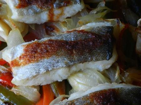 bacalao con pimentón